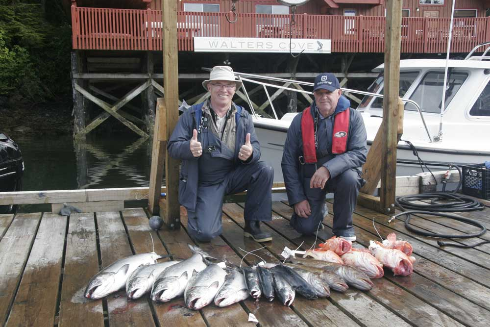 Walters cove fishing report bc salmon and halibut for West point fishing report